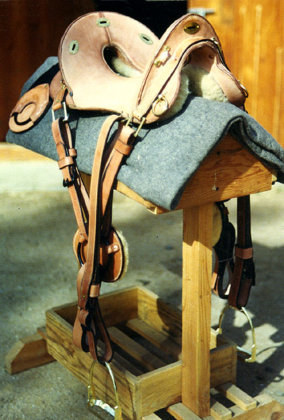 20th Century American Calvery Saddles